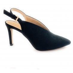 Isobel Black Microfibre Shoe