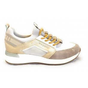 Ivory Evo 411-A2M60-5569 Sand and Gold Trainers