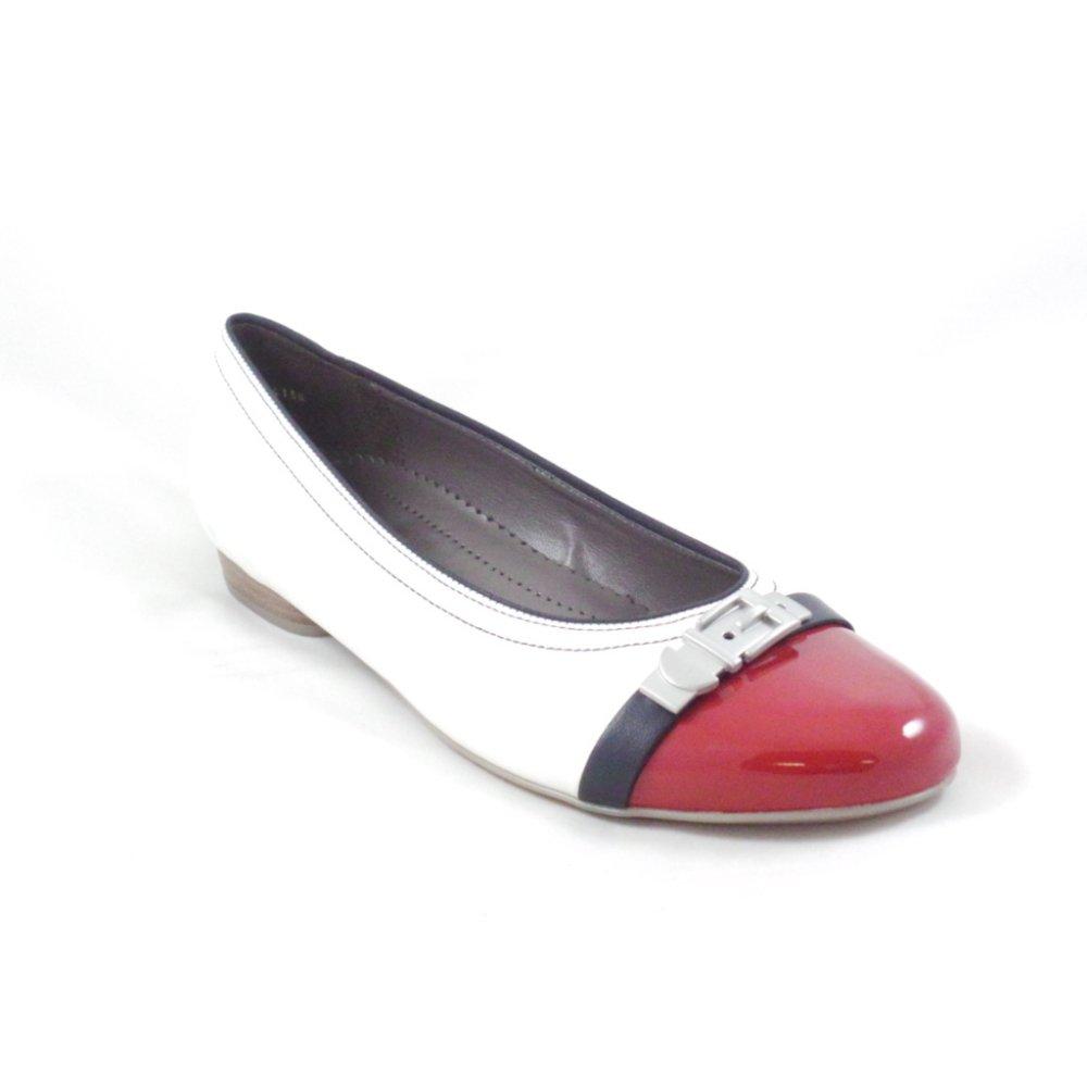 Jenny 63374 Shoe And Ballerina WhiteRed Pisa 22 Navy knO80wPX