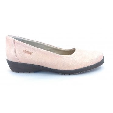 Jewel Beige Print Slip On Shoes