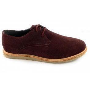 Jordan Bordo Suede Lace-Up Shoe