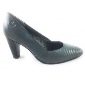 Josefine 02 Grey Leather Court Shoe
