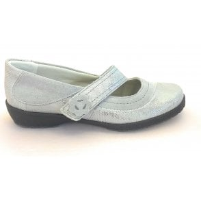 Joy Grey Suede Casual Shoe