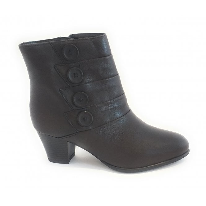 Lotus Julia Brown Leather Ankle Boot