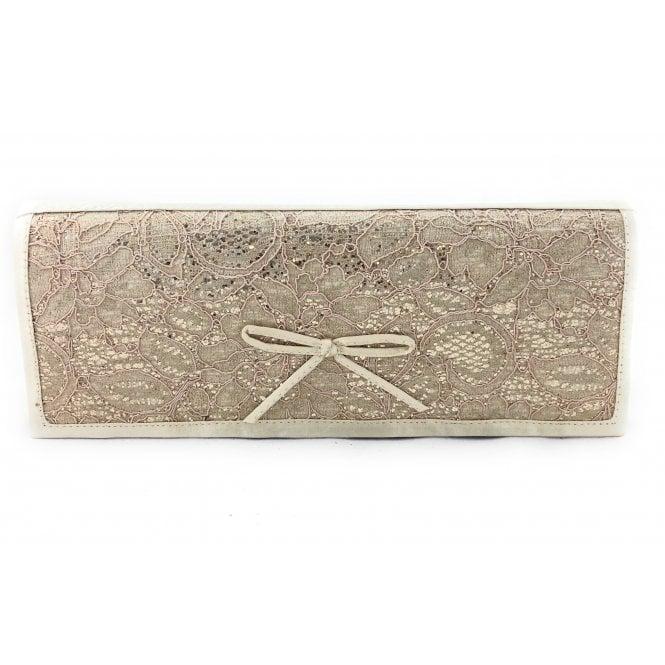 Lotus Karolina Light Gold Clutch BAg