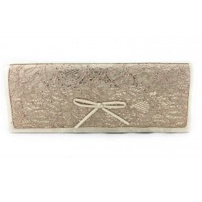Karolina Light Gold Clutch BAg