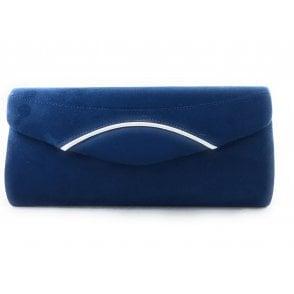 Kendall Navy Microfibre Handbag