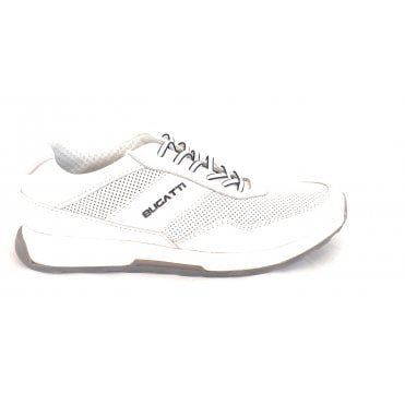 Kensingtone 311-A2W01-1000 White Leather Trainers