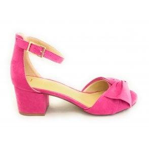 Kerry Fuchsia Pink Microfibre Shoe