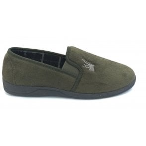 Khaki Jack Micro-Suede Slippers