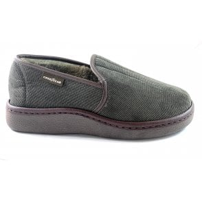 Lachlan Brown Mens Slippers