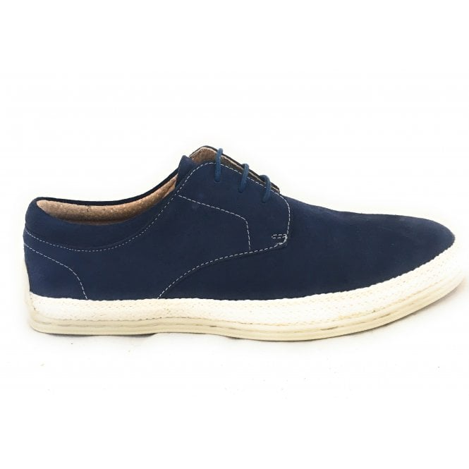 Lotus Lambert Navy Suede Lace-Up Men's Casual Shoe