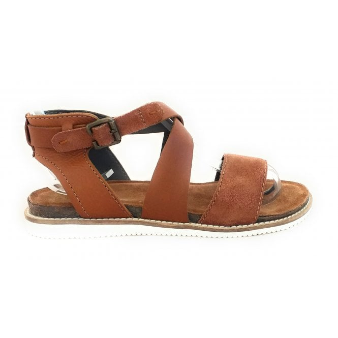 Lotus Lark Tan Leather Sandal
