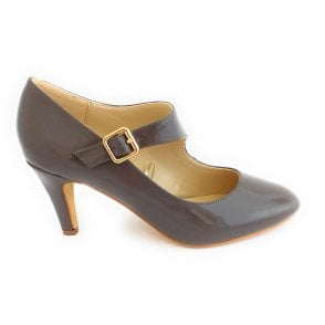 Laurana Taupe Patent Court Shoe
