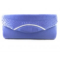 Lilac Sateen Handbag