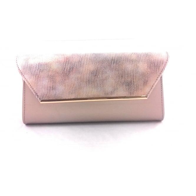 Lotus Limmen Gold Clutch Bag