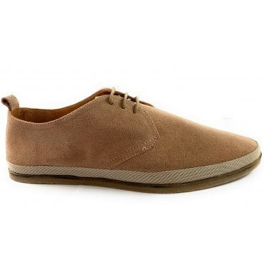Loire Dusty Pink Suede Derby Shoe