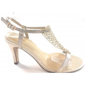 Lola Gold Sandal