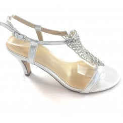 Lola Silver Sandal