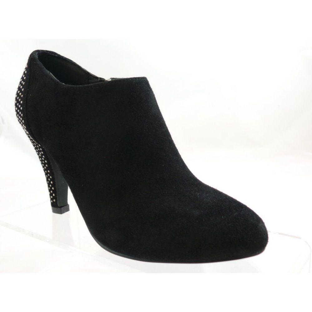 lotus black suede toe shoe boot size 5 lotus from