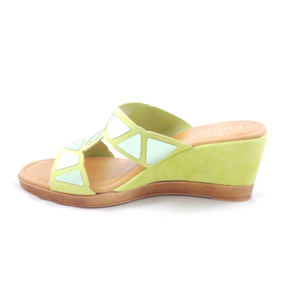 lime green wedge sandals www imgkid the image kid
