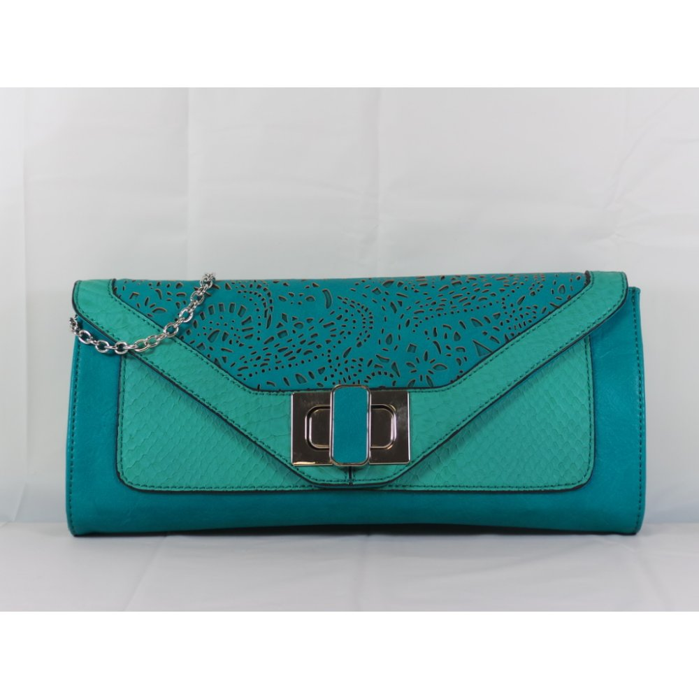 Lotus Waltz Jade Green Clutch Bag - Lotus from size4footwear.com UK