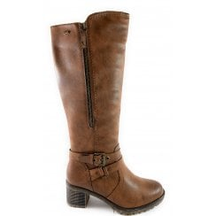 Mabel Tan Knee-High Boot