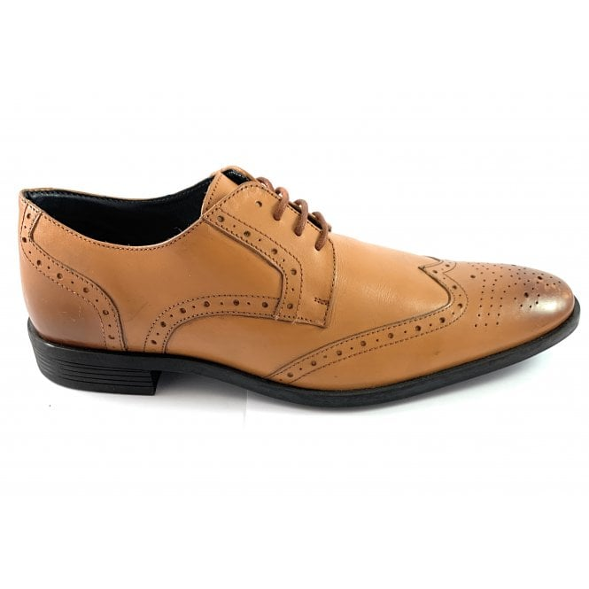 Lotus Mason Tan Leather Brogue