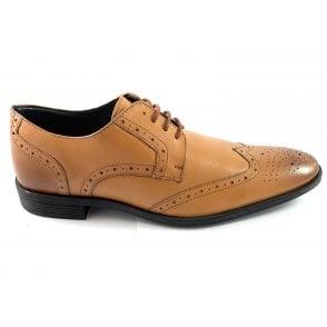 Mason Tan Leather Brogue