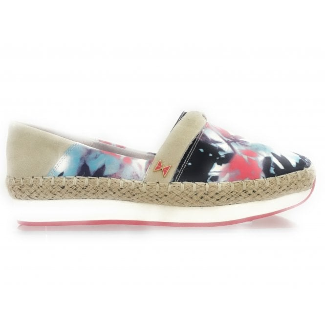 Butterfly Twists Maya Romantic Floral Espadrille Wedge
