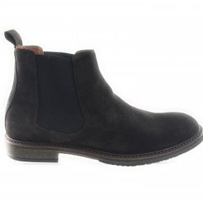Mens Brown Suede Chelsea Boot