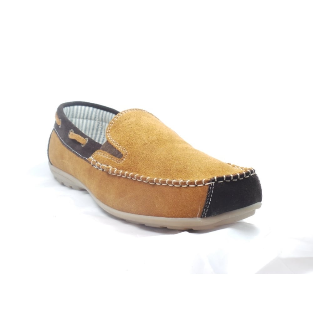lotus mens suede slip on casual shoe lotus from