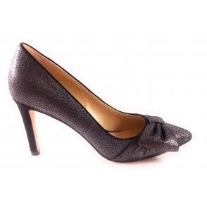 Minango Pewter Court Shoe