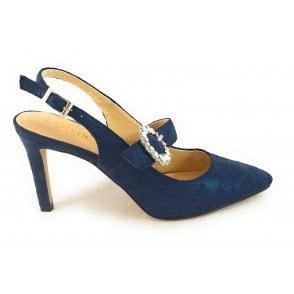 Mishka Navy Court Shoes