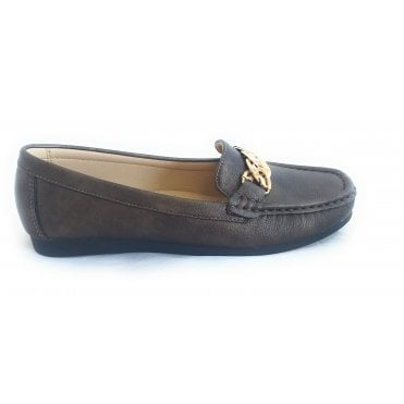 Molly Bronze Loafer
