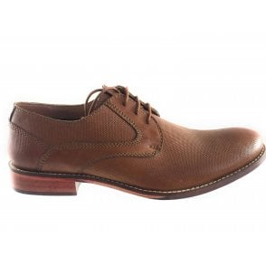 Moresby Tan Leather Lace-Up Shoe