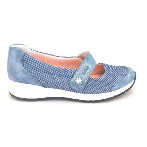 Nadine Blue Casual Shoe