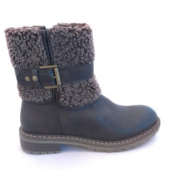 Natalie Brown Ankle Boot