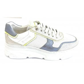 Nava 411-84403-3939 White and Silver Trainers