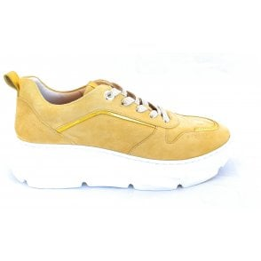 Nava 412-84402-3449 Yellow Suede Trainers