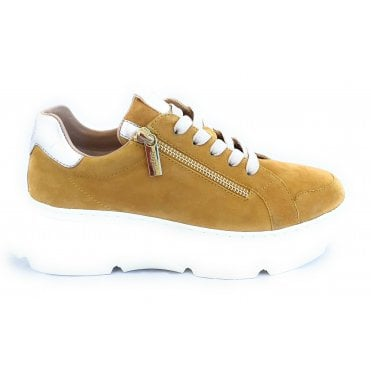 Nava 412-84408-3449 Yellow Suede Trainers