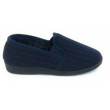 Navy Alfie Mens Slippers