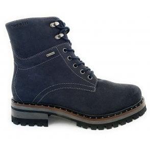 Navy Waterproof Boots
