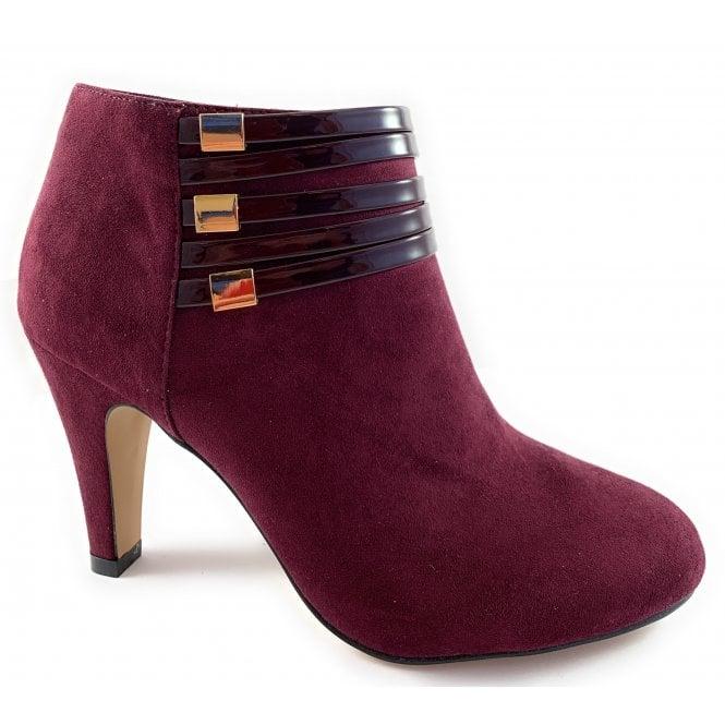 Lotus Nell Bordo Microfibre Shoe Boot