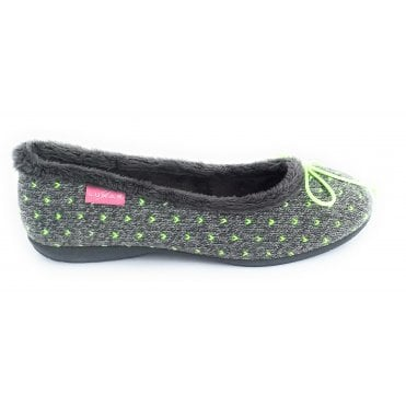 Neon Grey Pump Slipper