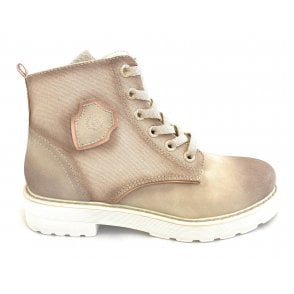Neria Revo Beige and Rose Boots