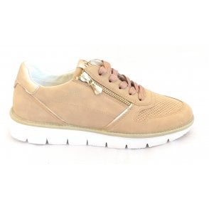 Nicki 431-A2Q01-5455 Sand and Gold Trainers