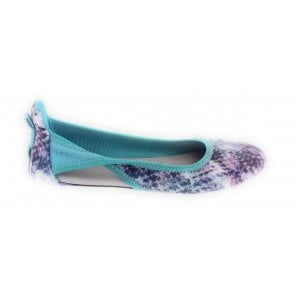 Nicola Aqua Multi Snakeprint Sporty Pump
