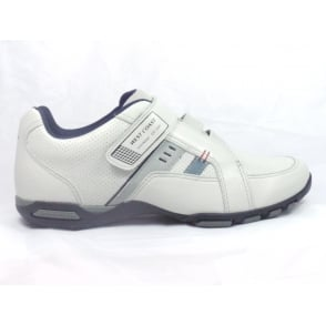 Off White Leather Casual Shoe