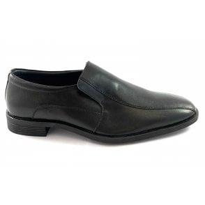 Oliver Black Leather Men's Loafer